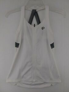 NEW. Pearl Izumi Sugar Sleeveless Jersey in White Turbulence XS Women's NWT $65