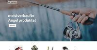 Webshop für Angeln und Zubehör - 1047 Produkte - Wordpress - Amazon Affiliate