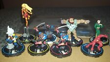 WIZKIDS MARVEL HEROCLIX CRITICAL MASS 8 FIGURE LOT