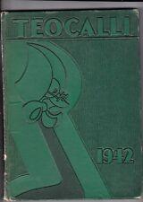 1942 Mark Keppel High School Year Book The Teocalli, Alhambra, California