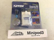 Davis & Sanford Minipod 3 Tabletop Tripod & Tiffen Camera Lense Cleaning Kit Lot