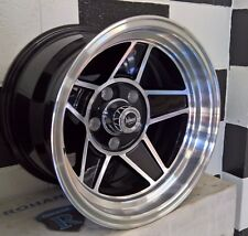 "15"" 5/114.3,5/120.6, 5/108 PERFORMANCE CHALLENGER MAG WHEELS SUIT MANY CARS."