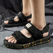 US4.5-10.5 Men Slip on Buckle Loafers Casual Sports Slippers Shoes Summer Sandal