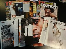 Don Cheadle 29 full pages  Clippings