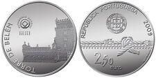 2,5 EURO PORTUGAL 2009 UNC - TOUR DE BELEM
