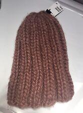 9fe9c5f5c63 HM Pale Pink Knit Hat Cap Beanie Head Covering Large