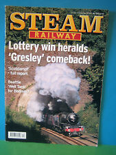 STEAM RAILWAY No 263 OCT-NOV 2001 # LOTTERY WIN > GRESLEY COMEBACK > SEE PIC