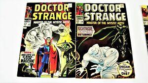 Doctor Strange No.1, 1968-Silver Age-4 Book Lot
