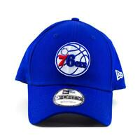 Philadelphia 76ers  New Era NBA Team 9Forty Hat In Blue Cap Gym