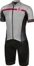 Castelli Velocissimo San Remo Suit Size Large Black Grey Size Large : SEE Video