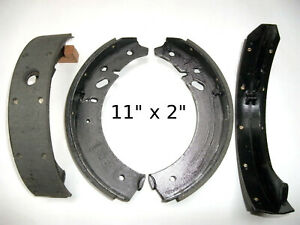 4 - 190R Brake Shoes for Checker A-11 A-12 B-11 Aerobus Marathon Superba