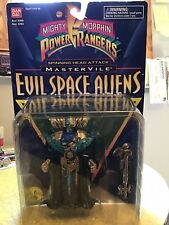 MIGHTY MORPHIN POWER RANGERS SPINNING HEAD ATTACK EVIL SPACE ALIENS ON CARD