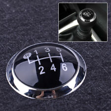 Car 6 Speed Gear Shift Knob Cap Cover Trim Fit for Toyota Avensis 2009-2019