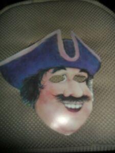 Vintage Long John Silvers Restaurant  Paper Pirate Mask