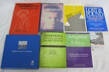 Adoption Kinship Prenatal Alcohol Drug Exposure Ethics Book Lot of 8
