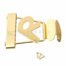 Short Trapeze Tailpiece for 6 string Hollowbody/Archtop/Jazz Guitar Gold