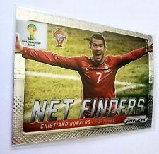 2014 Panini Prizm World Cup Brazil Cristiano Ronaldo Net Finders Card #20 Mint