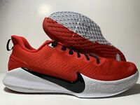 Nike Mamba Focus TB Kobe Bryant Red White AT1214-600 Basketball Shoes Men's