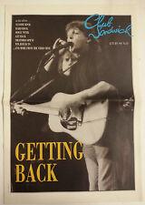 "Paul McCartney revista ""Club Sandwich"" nº 59 UK 1991"
