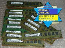 SAMSUNG 2GB Ram 1Rx8 PC3-10600E 1333MHZ ECC UNBUFFERED M391B5773CH0-CH9 SERVER