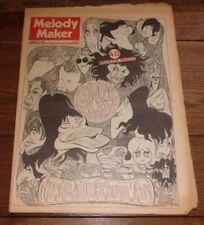 December Melody Maker Music, Dance & Theatre Magazines