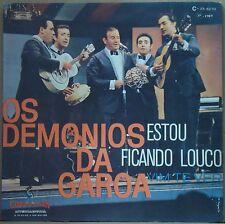 """OS DEMONIOS DA GAROA 1969 """"Estou Ficando Louco"""" Bossa Samba 7"""" PS BRAZIL 45 HEAR"""
