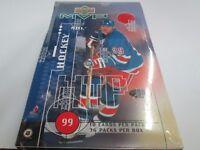 1998-99 UPPER DECK MVP HOCKEY HOBBY SEALED BOX