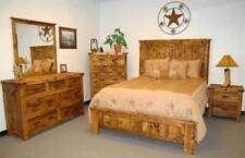 Pine Rustic/Primitive Bedroom Furniture Sets | eBay