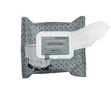 Sephora Collection Cleansing Exfoliating Wipes Charcoal 25pc Package Deep Clean
