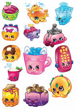 t shirt transfers . iron on  * shopkins  x 13
