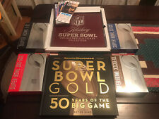 NFL Super Bowl package - DVD Collection + Replica Tickets + Book