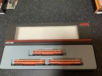 "Marklin spur z scale/gauge OBB ""Jaffa-Orange"" Car Set. Very Rare."