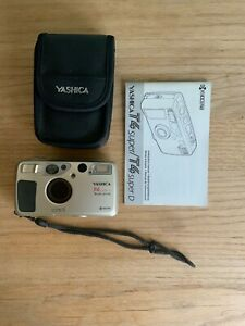 Yashica T4 Super D 35mm Point & Shoot Film Camera