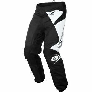 O`Neal Oneal Matrix schwarz weiss offroad Throuser Hose Enduro Cross Gr.38 inch