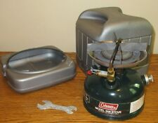 Vintage Coleman 508 Camp Camping Stove w/ Case Backpack-Hunting