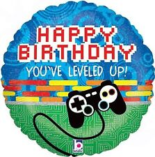 "18"" Game Controller Xbox Helium Foil Balloon Happy Birthday Party 36020p"