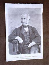 Firmatario dello Statuto d'Italia Ottavio Thaon di Revel Conte di Pratolongo