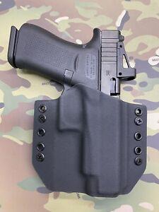 Black Kydex Holster for Glock 48 MOS