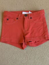 H&M Age 5-6 Girls Red Shorts