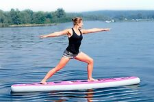 YOGA FLOW fitness 10 ft iSUP inflatable stand up paddle board aqua marina