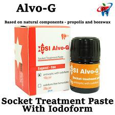 Alvo-G Dental Alveolar Dressing Propolis With Iodoform Extraction Socket Treat