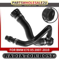 For BMW E70 X5 2007 Lower /& Upper Radiator /& Vent w// Small Cap Hose Kit Genuine