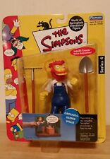 The Simpsons Series 4 Grounds-Keeper Willie World of Springfield Interactive