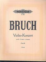 Max Bruch ~ Violin-Konzert g moll Op. 26 - Violine und Piano