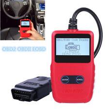 Portable OBD2 OBDII EOBD Car Fault Code Reader Scanner Engine Diagnostic Tool