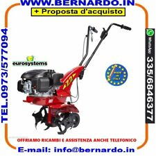Motozappa a benzina EUROSYSTEMS Z 2 motore Loncin OHV 123 T con RETROMARCIA