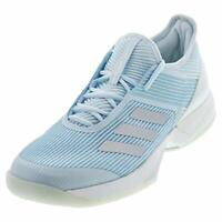Adidas Mens Ubersonic Fabric Low Top Lace Up, Sky Tint/Silver/White, Size 6.0 xE