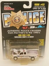 Racing Champions 1999 Ford F350 Dually Pickup Police Sheriff '99 1/64 Diecast