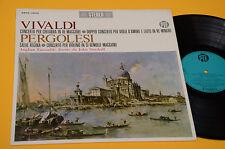 VIVALDI CONC CHITARRA-PERGOLESI SALVE REGINA LP TOP CLASSICA ITALY '60 NM ! AUDI