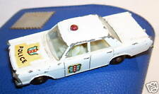 OLD LESNEY MATCHBOX FORD GALAXIE POLICE CAR REF 55 1966